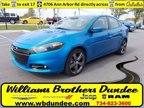 2016 Dodge Dart for sale in Dundee, MI