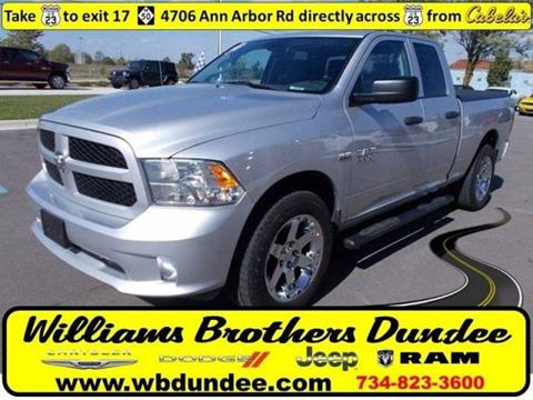 2013 RAM Ram Pickup 1500 for sale in Dundee, MI