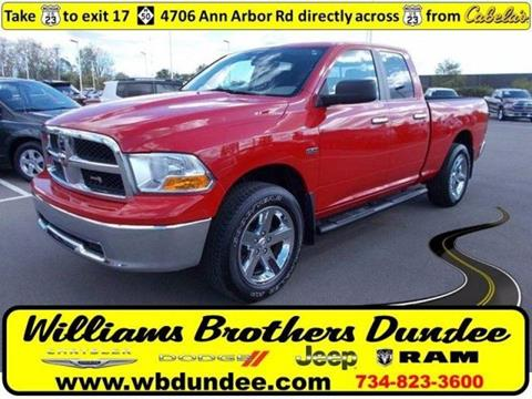 2010 Dodge Ram Pickup 1500 for sale in Dundee MI