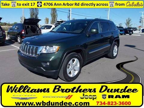 2011 Jeep Grand Cherokee for sale in Dundee, MI