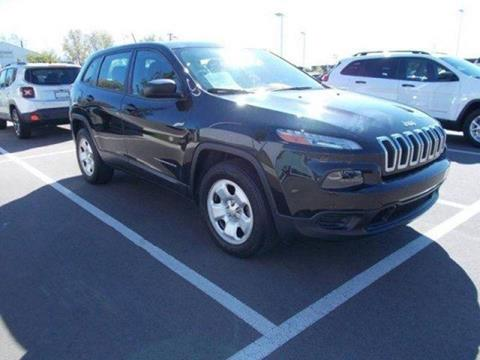 2015 Jeep Cherokee for sale in Dundee MI