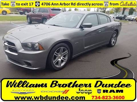 2012 Dodge Charger for sale in Dundee, MI