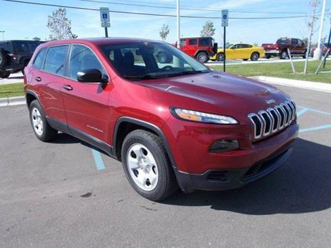 2014 Jeep Cherokee for sale in Dundee, MI
