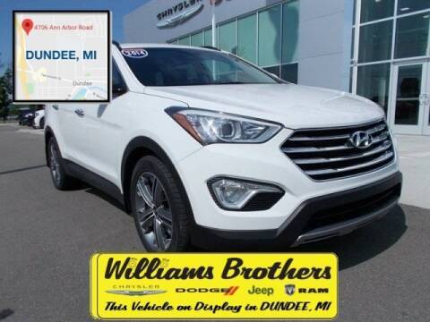 2014 Hyundai Santa Fe for sale at Williams Brothers - Pre-Owned Monroe in Monroe MI