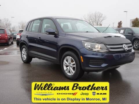 2012 Volkswagen Tiguan for sale at Williams Brothers - Pre-Owned Monroe in Monroe MI