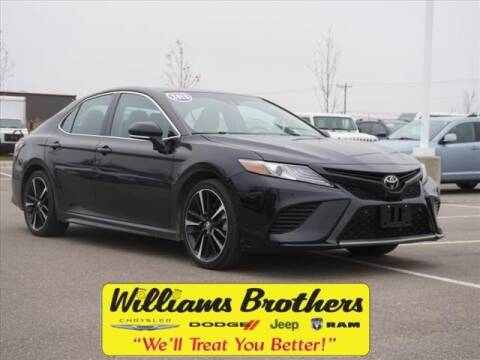 2018 Toyota Camry for sale in Dundee, MI