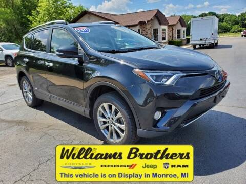 2017 Toyota RAV4 Hybrid for sale at Williams Brothers - Pre-Owned Monroe in Monroe MI