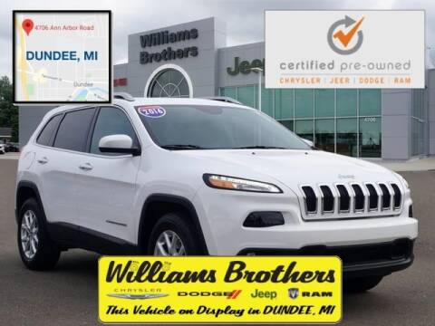 2016 Jeep Cherokee Latitude for sale at Williams Brothers - Pre-Owned in Monroe MI