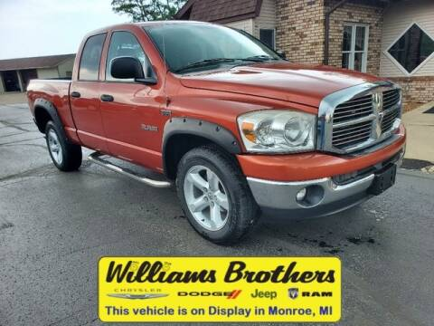 2008 Dodge Ram Pickup 1500 for sale at Williams Brothers - Pre-Owned Monroe in Monroe MI