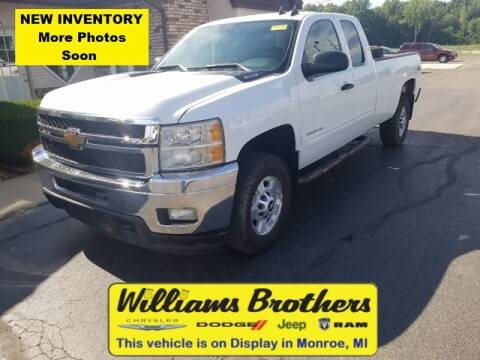 2013 Chevrolet Silverado 2500HD for sale at Williams Brothers - Pre-Owned Monroe in Monroe MI