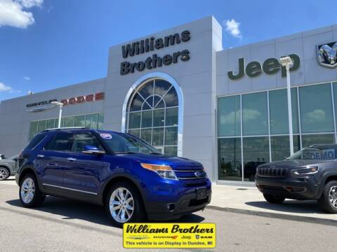 2015 Ford Explorer for sale at Williams Brothers - Pre-Owned Monroe in Monroe MI