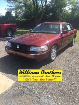 2010 Mercury Grand Marquis for sale at Williams Brothers - Pre-Owned Monroe in Monroe MI