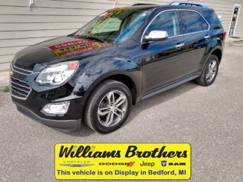 2017 Chevrolet Equinox for sale at Williams Brothers - Pre-Owned Monroe in Monroe MI