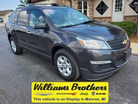 2016 Chevrolet Traverse for sale at Williams Brothers - Pre-Owned Monroe in Monroe MI