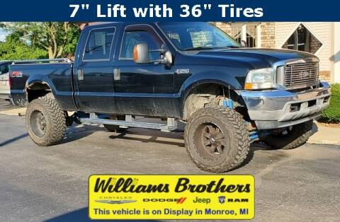 2004 Ford F-250 Super Duty for sale at Williams Brothers - Pre-Owned Monroe in Monroe MI