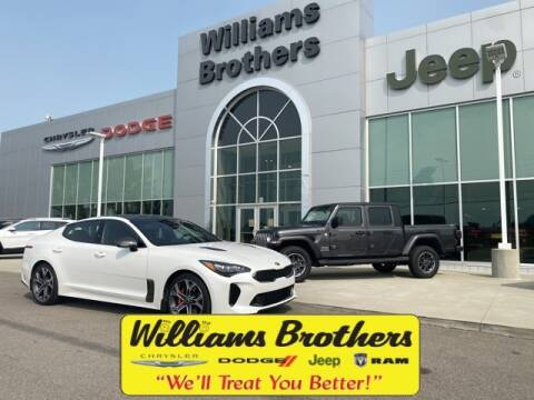 2018 Kia Stinger for sale at Williams Brothers - Pre-Owned Monroe in Monroe MI