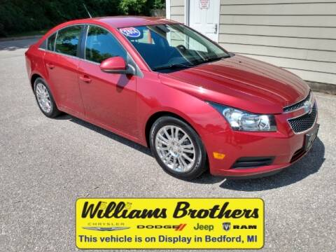 2014 Chevrolet Cruze for sale at Williams Brothers - Pre-Owned Monroe in Monroe MI