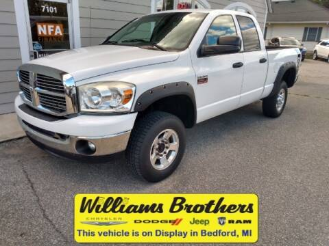 2009 Dodge Ram Pickup 2500 for sale at Williams Brothers - Pre-Owned Monroe in Monroe MI