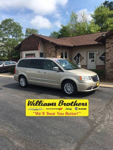 2014 Chrysler Town and Country for sale at Williams Brothers - Pre-Owned Monroe in Monroe MI