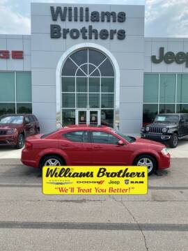 2013 Dodge Avenger for sale at Williams Brothers - Pre-Owned Monroe in Monroe MI