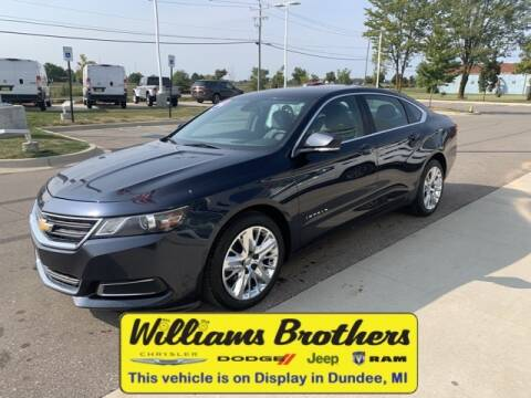 2014 Chevrolet Impala for sale at Williams Brothers - Pre-Owned Monroe in Monroe MI