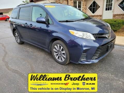 2018 Toyota Sienna for sale at Williams Brothers - Pre-Owned Monroe in Monroe MI