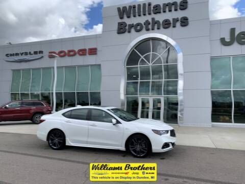 2018 Acura TLX for sale at Williams Brothers - Pre-Owned Monroe in Monroe MI
