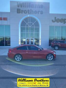 2016 BMW 4 Series for sale at Williams Brothers - Pre-Owned Monroe in Monroe MI