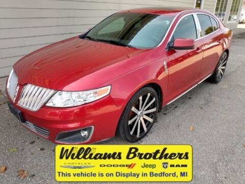 2010 Lincoln MKS for sale at Williams Brothers - Pre-Owned Monroe in Monroe MI
