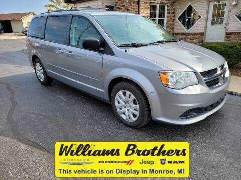 2017 Dodge Grand Caravan for sale at Williams Brothers - Pre-Owned Monroe in Monroe MI