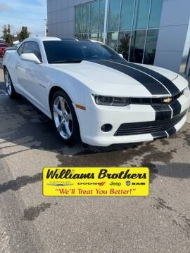 2015 Chevrolet Camaro for sale at Williams Brothers - Pre-Owned Monroe in Monroe MI