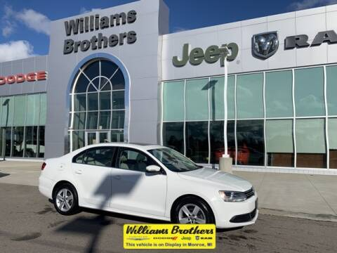 2013 Volkswagen Jetta for sale at Williams Brothers - Pre-Owned Monroe in Monroe MI