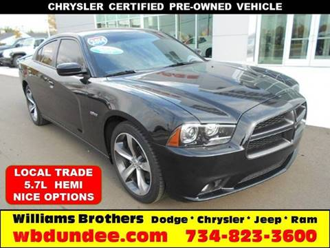 2014 Dodge Charger for sale in Dundee, MI