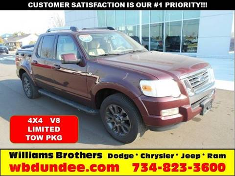 2007 Ford Explorer Sport Trac for sale in Dundee, MI