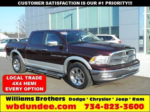 2012 RAM Ram Pickup 1500 for sale in Dundee, MI