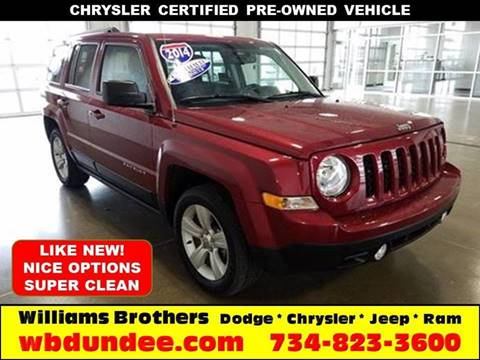 2014 Jeep Patriot for sale in Dundee, MI