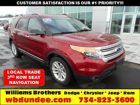 2013 Ford Explorer for sale in Dundee, MI
