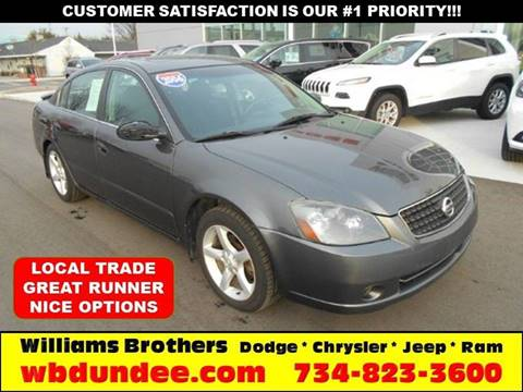 2006 Nissan Altima for sale in Dundee, MI