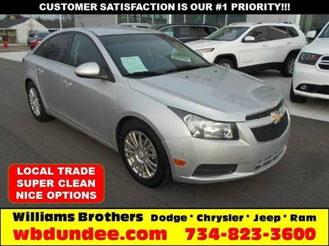 2011 Chevrolet Cruze for sale in Dundee, MI