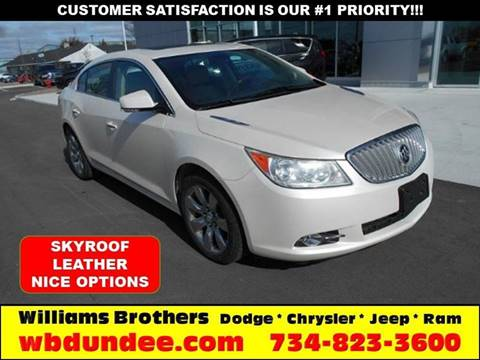 2011 Buick LaCrosse for sale in Dundee, MI