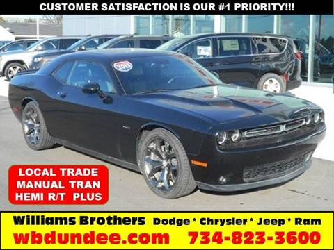 2015 Dodge Challenger for sale in Dundee, MI