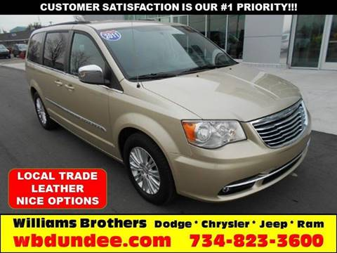 2011 Chrysler Town and Country for sale in Dundee, MI