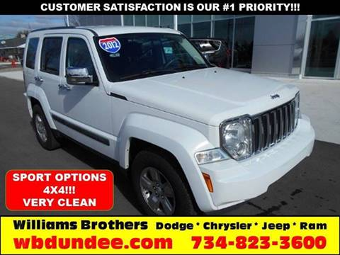 2012 Jeep Liberty for sale in Dundee, MI