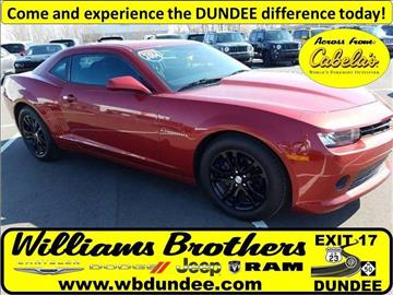 2014 Chevrolet Camaro for sale in Dundee, MI
