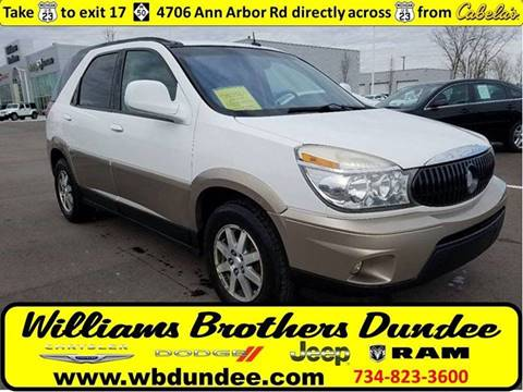 2004 Buick Rendezvous for sale in Dundee, MI