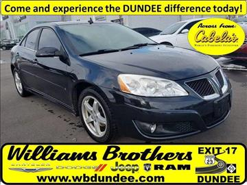 2009 Pontiac G6 for sale in Dundee, MI