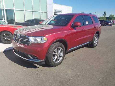 2014 Dodge Durango for sale in Dundee, MI