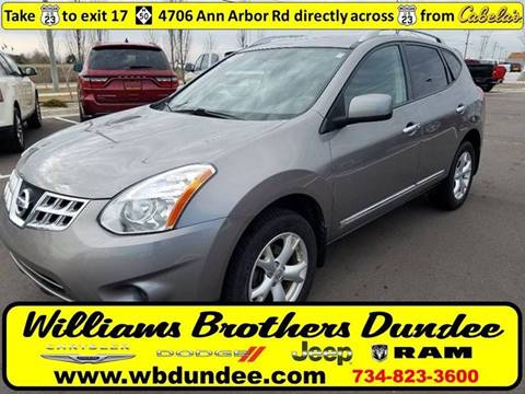 2011 Nissan Rogue for sale in Dundee, MI