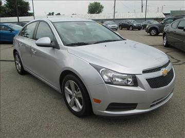 2013 Chevrolet Cruze for sale in Dundee, MI