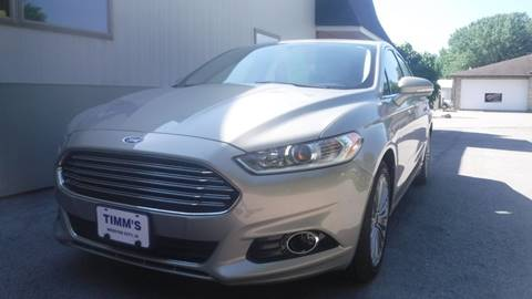 2016 Ford Fusion for sale in Webster City, IA